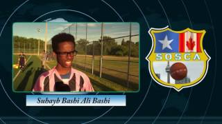 Suhayb Bashi Ali Bashi Great soccer player for Sosca Somali Week Toronto 2016