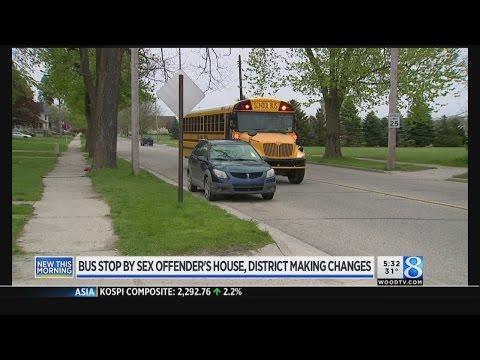Xxx Mp4 Ionia Bus Stop By Sex Offender's House District Responds 3gp Sex