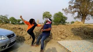 Making of Fight scene of bhojpuri film patnawali dulhaniya le jaenge