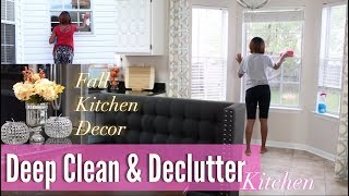 💖 Glam Home 💖 CLEANING & DECLUTTERING MOTIVATION | SPEED CLEAN WITH ME | FALL DECOR 2017