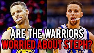Should the Warriors be WORRIED about Steph Curry?