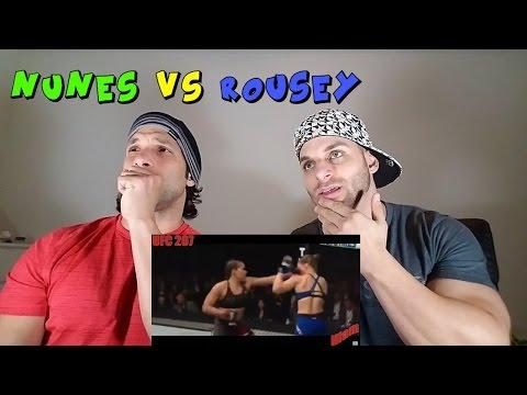 Amanda Nunes vs Ronda Rousey   REACTION