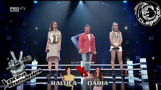 Raluca x Daria - Welcome to the jungle (Vocea Romaniei 20/10/17)