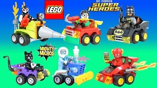 Lego DC Comics BEST of Mighty Micros Adventures with Batman, Cat Woman, Flash, Captain Cold & More!!