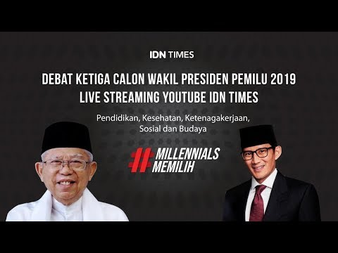 Xxx Mp4 LIVE Debat Ketiga Cawapres Pilpres 2019 Maruf Amin Vs Sandiaga Uno 3gp Sex