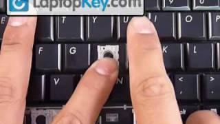 Repair Fix Keyboard Key | DV6 DV4 DV7 DV7-1000 | HP Replacement Repair Guide