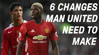 6 Ways Manchester United Can Become Great Again