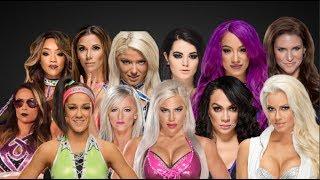 WWE Raw Women's Signatures & Finishers