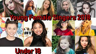 Young Female Singers 2018 (Under 18)