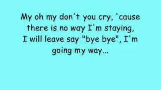 My Oh My   Aqua Lyrics