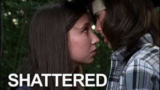 Shattered || Carl and Enid
