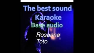 Toto - Rosanna - karaoke