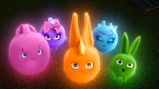 Sunny Bunnies | Glow in the Dark Bunny | SUNNY BUNNIES COMPILATION | Cartoons for Children