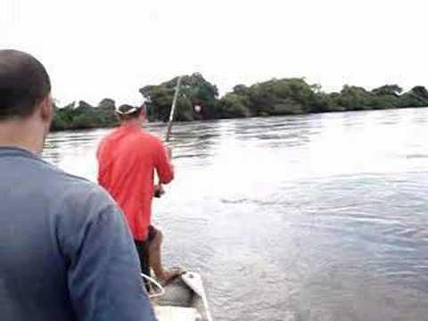 Pescaria no Rio Ivinhema