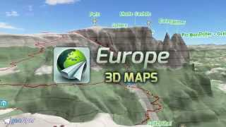 Europe 3D Maps