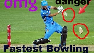 Cricket Bats Broken By Fast Bowlers  (Updated 2016) Best Fast Bowling ●