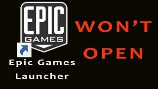 Epic Game Launcher Won