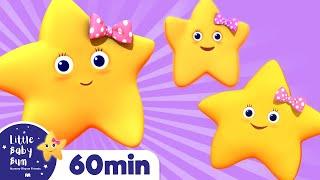Twinkle Twinkle Little Star | Part 2 | Plus Lots More Nursery Rhymes | From LittleBabyBum!