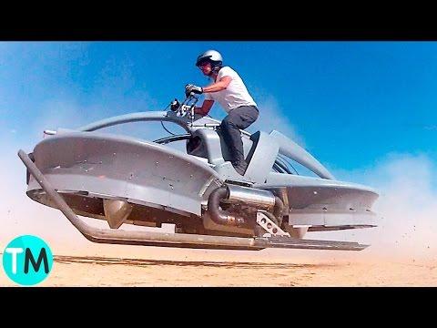 5 Motocicletas Voladoras Que No Creerás Que Existen