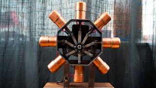 8 Cylinder Radial Solenoid Engine | Version 2.0