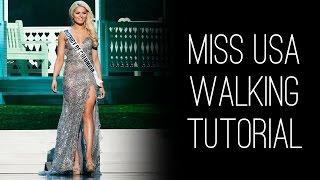 Miss USA How-to: Walk Like Miss USA with Lu Sierra