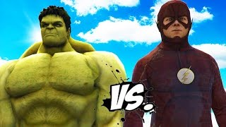 THE HULK VS THE FLASH - EPIC SUPERHEROES BATTLE | DEATH FIGHT