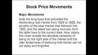 Richard W Schabacker Trading Mind Part 1