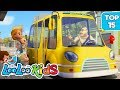 Download Video The Wheels on the Bus - TOP 15 Songs for Kids on YouTube 3GP MP4 FLV
