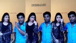 Vijay Tv Comedy Awards Alya Manasa Nanjilvijayan Funny Dubsmash Tamil