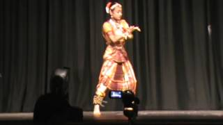 Puspita's Dance at ABF Durga Puja 2012