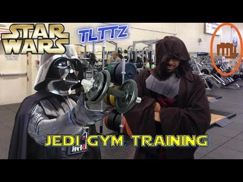 JEDI WORKOUT IN THE GYM!! | STAR WARS Tough Like The Toonz: EP 21