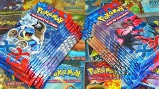 Ouverture de 20 Boosters Pokémon X et Y ! FULL-ART SUBLIME ! XERNEAS VS YVELTAL