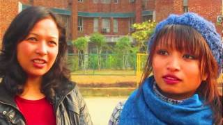 International Students Interview at Sharda University : Nepal Part 1
