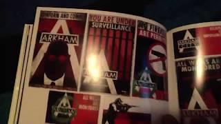 BatMan: ARKHAM CITY ART BOOK