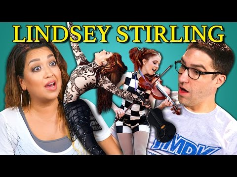 Adults React to Lindsey Stirling Dubstep Violin