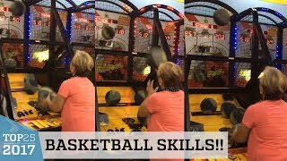 Grandma's Amazing Basketball Arcade Game Skills   Top 25 of 2017