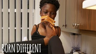 The Amazing Girl With No Arms | BORN DIFFERENT