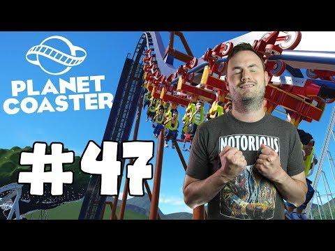 Sips Plays Planet Coaster (27/6/2017) - #47 - Barrel Crazy