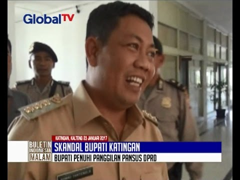 Bupati Katingan Penuhi Panggilan Pansus Tanpa Selingkuhannya Oknum PNS Istri Polisi - BIM 23/01