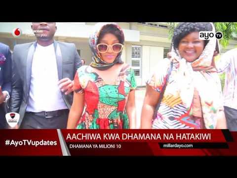 Agness Gerald 'MASOGANGE' alivyofikishwa Mahakamani leo FEB 22 2017