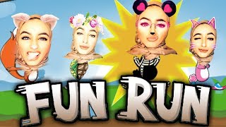 اقوى سباق مع متابعيني لعبة فن رن - FUN RUN
