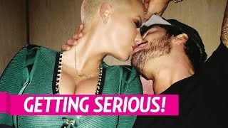 Amber Rose and Boyfriend Val Chmerkovskiy Are