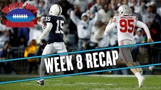 Wake Up College Football - Week 8 Recap