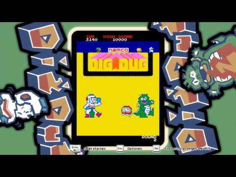 Let's play ARCADE GAME SERIES: DIG DUG