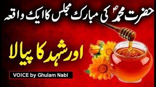 Hazrat Muhammad SAW Ki Mubarak Majlis | Islamic Prophet Story | Urdu Hindi Story