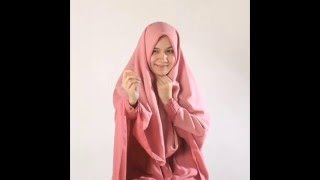 Tutorial Hijab Alila Khimar Maxi - Cara Pakai Hijab Syar'i
