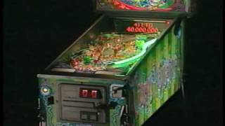 Bally Cirqus Voltaire pinball promo video and AMOA presentation by Rachel Davies