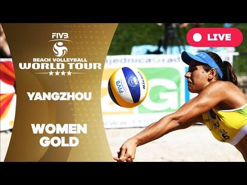 Xxx Mp4 Yangzhou 4 Star 2018 FIVB Beach Volleyball World Tour Women Gold Medal Match 3gp Sex