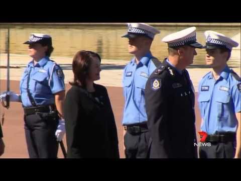 WA Police Budget Cuts   7 News 11OCT2012