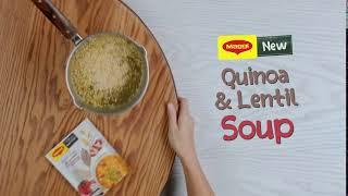 MAGGI Super grains: Quinoa and lentil soup